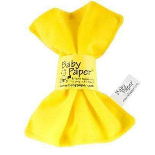 Crinkly Baby Paper - Yellow