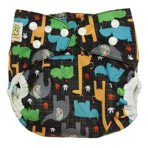Diaper Safari One Size Hook and Loop Cover - Savanna
