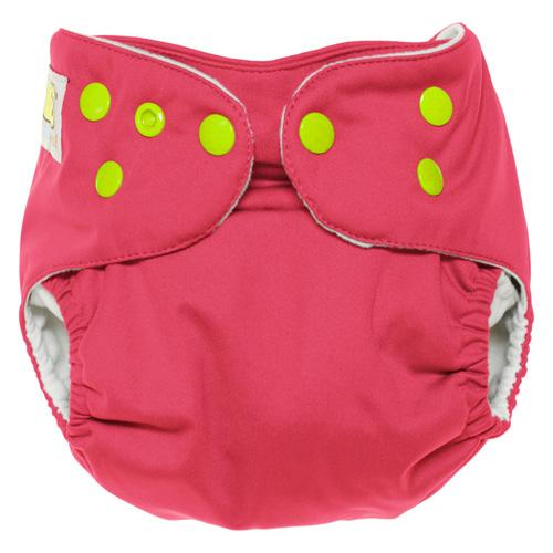 Diaper Safari One Size Snap Pocket Diaper - Flamingo
