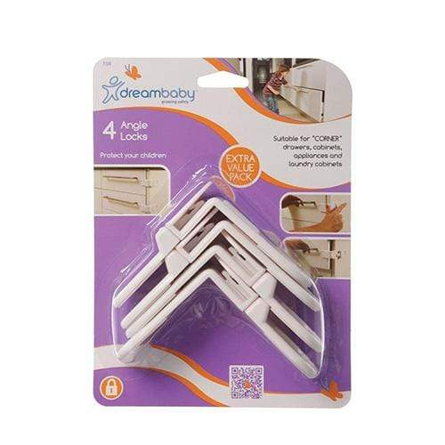 DreamBaby Angle Locks 4 pack #184 - Nicki's Diapers