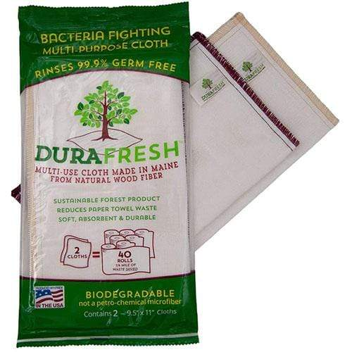 DURAFRESH Bacteria Fighting Multi-Purpose Cloth 2 Pack