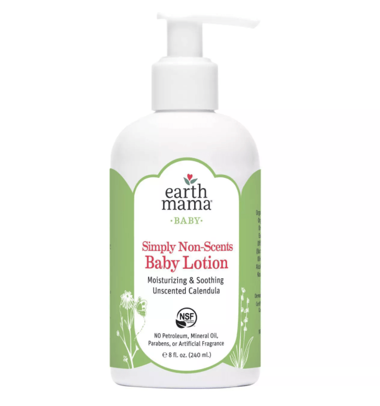Earth Mama Angel Baby Lotion - Non-Scents 8 oz