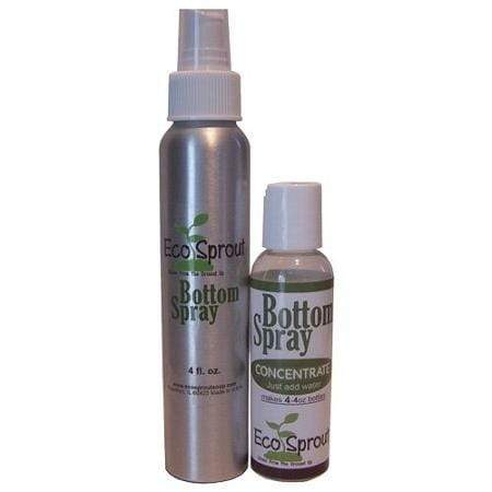 Eco Sprout Bottom Spray Concentrate with Aluminum Spray Bottle - Pure