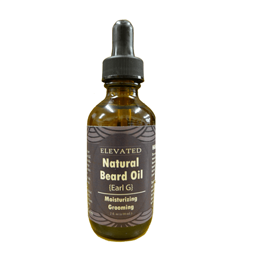 Elevated Natural Beard Oil 2 oz - Earl Gray