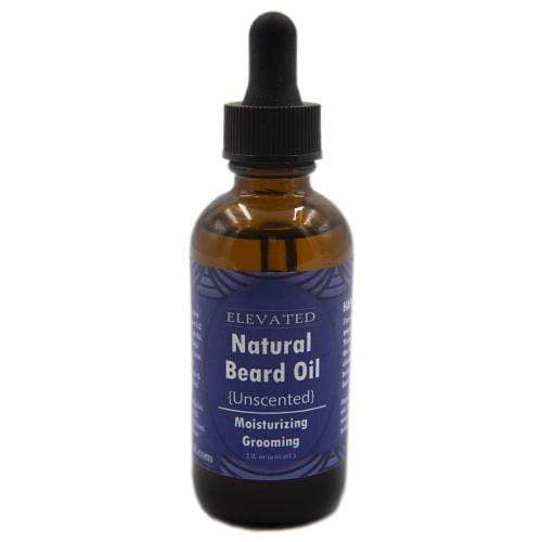 Elevated Natural Beard Oil 2 oz - Unscented