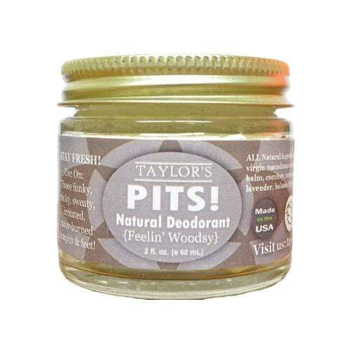 Elevated Pits! Natural Deodorant 2 oz - Feelin' Woodsy