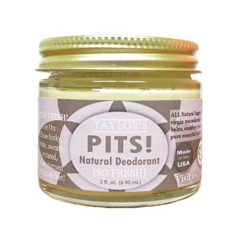 Elevated Pits! Natural Deodorant 2 oz - So Fresh