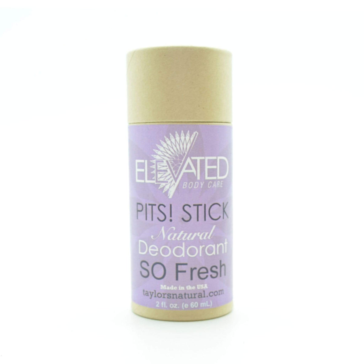 Elevated Pits! Natural Deodorant Stick - So Fresh