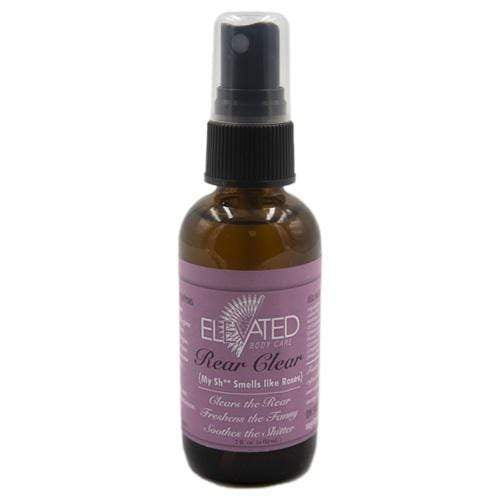 Elevated Rear Clear Spray 2 oz - Rose Vanilla