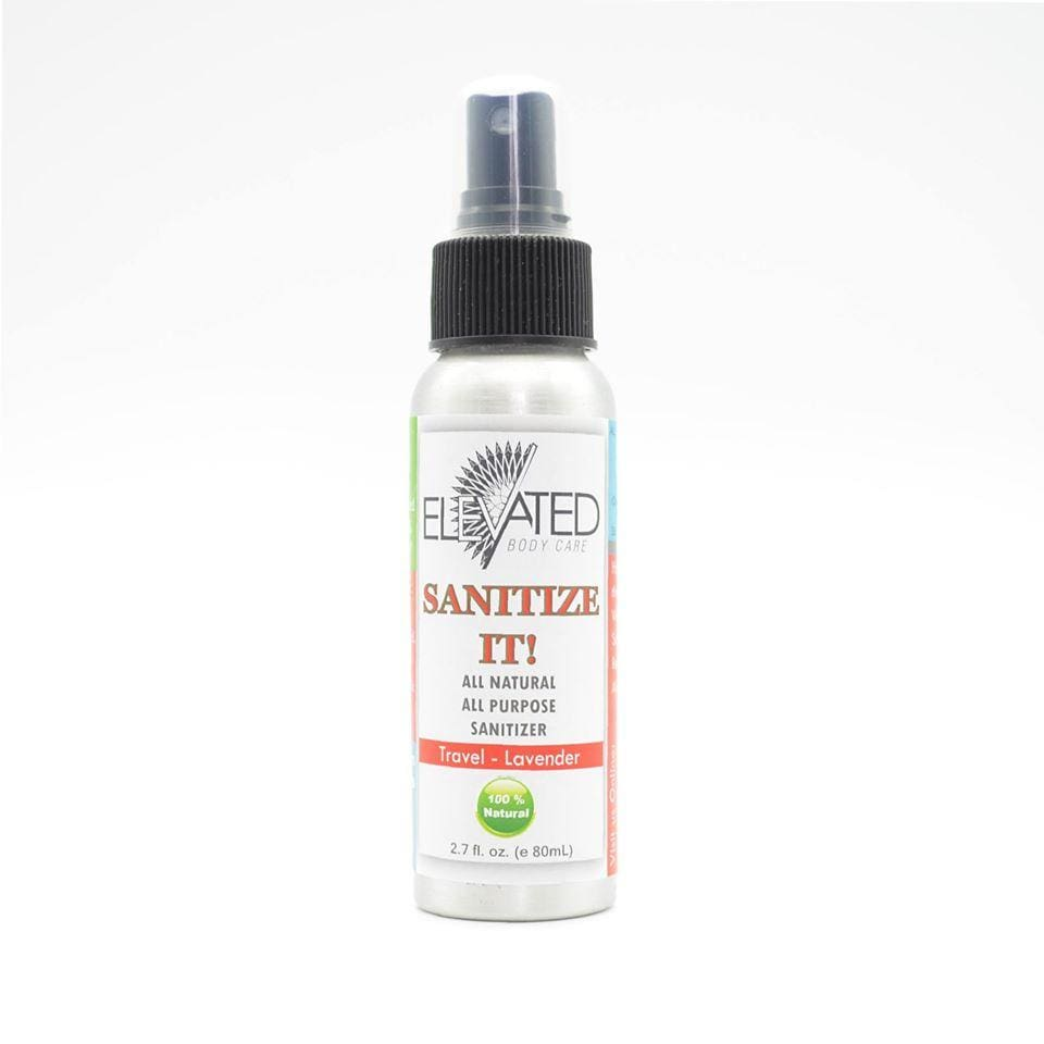 Elevated Sanitize It! Natural Sanitizer 2.7 oz - Eucalyptus