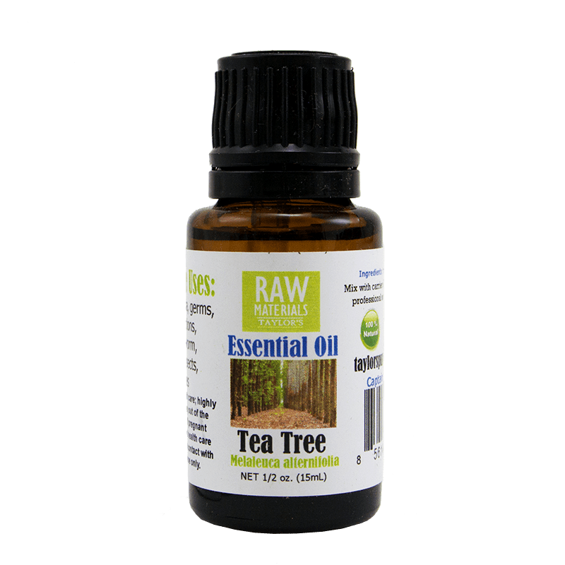 Elevated Taylor's Natural Raw Materials Pure Essential Oils 15 ml - Tea Tree