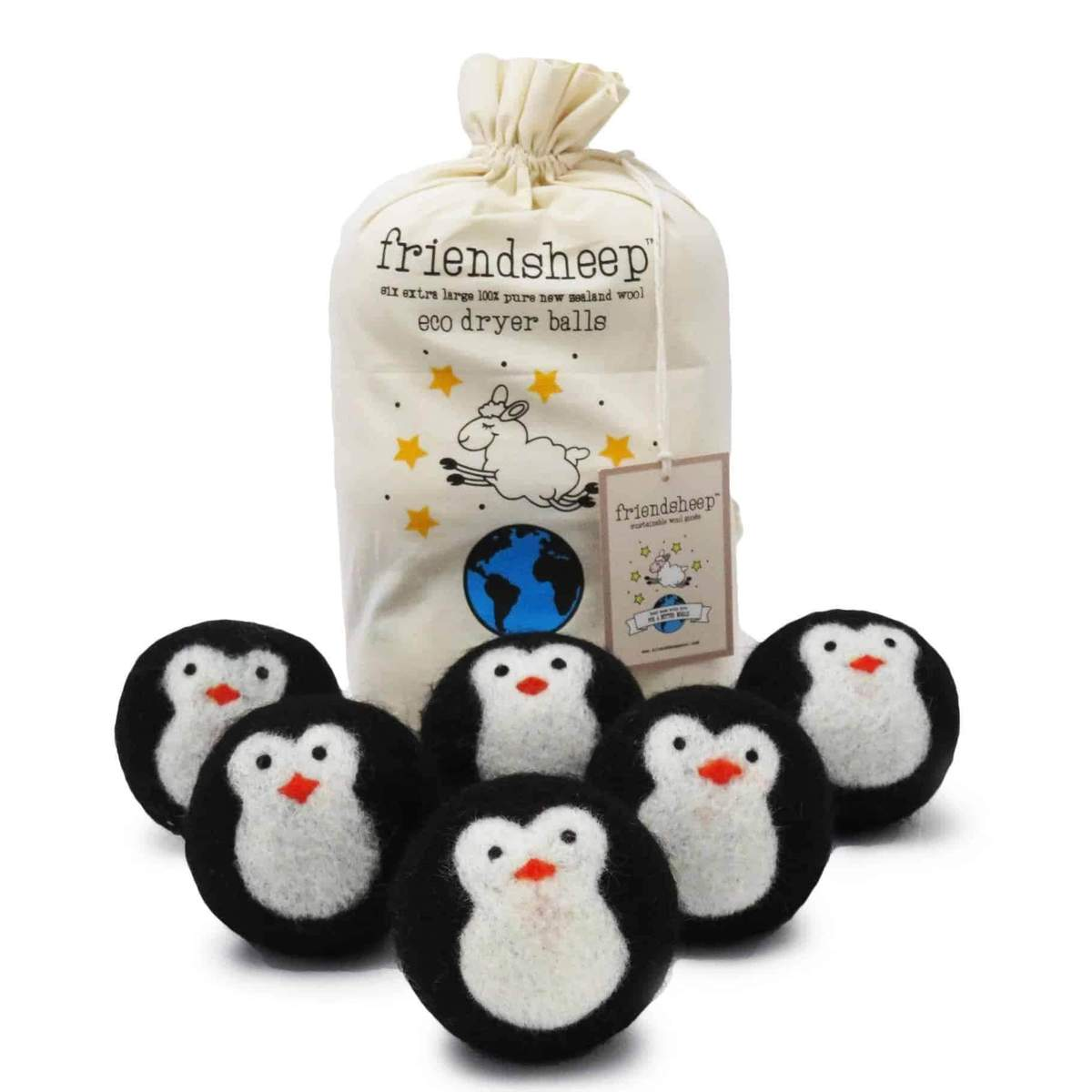 Friendsheep Eco Dryer Balls Pack of 6 - Cool Friends