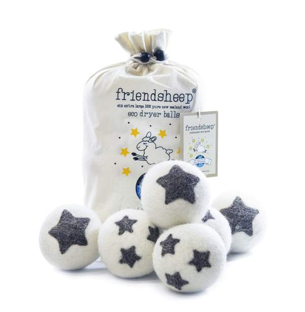 Friendsheep Eco Dryer Balls Pack of 6 - Stars Galore