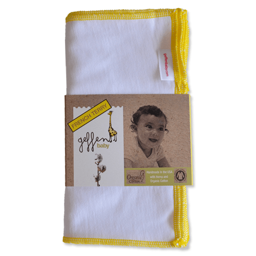 Geffen Baby French Terry Wipes 10 Pack