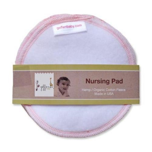 Geffen Baby Hemp Organic Cotton Fleece Nursing Pads 3 Pairs