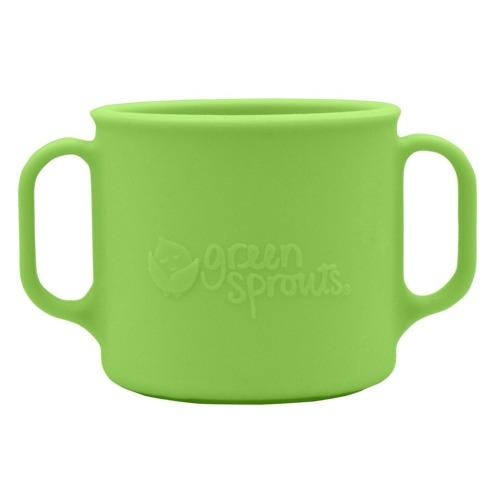 Green Sprouts Learning Cup made from Silicone - Green