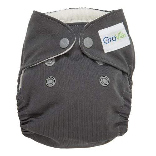 GroVia Newborn All in One Diaper - Cloud