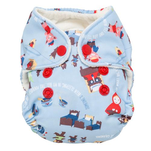 GroVia Newborn All in One Diaper - Once Upon a Time
