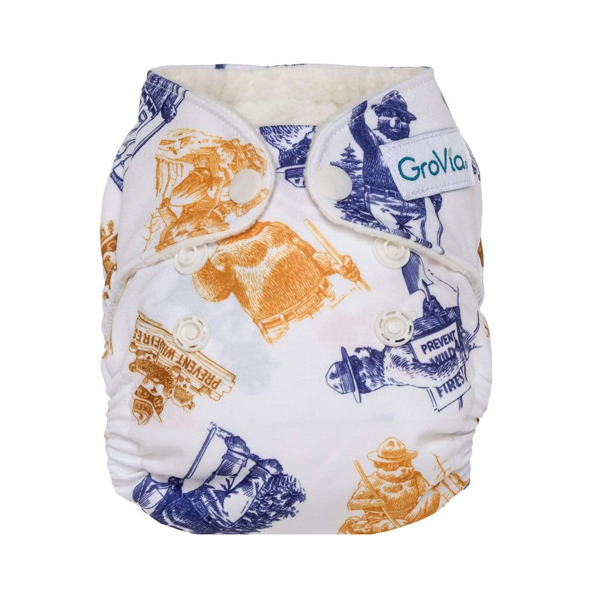 GroVia Newborn All in One Diaper - Only You