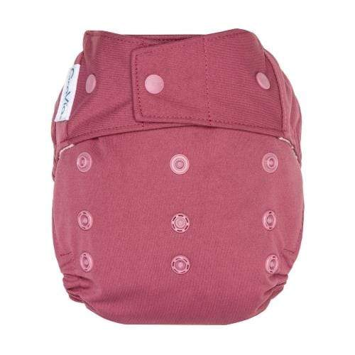 GroVia One Size Snap Hybrid Diaper Cover - Petal One Size