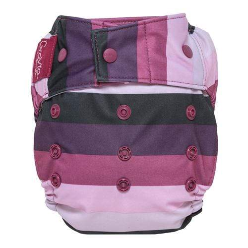 GroVia One Size Snap Hybrid Diaper Cover - Sugar Rush One Size