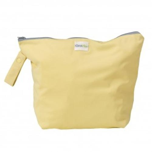 GroVia Zippered Wet Bag - Chiffon