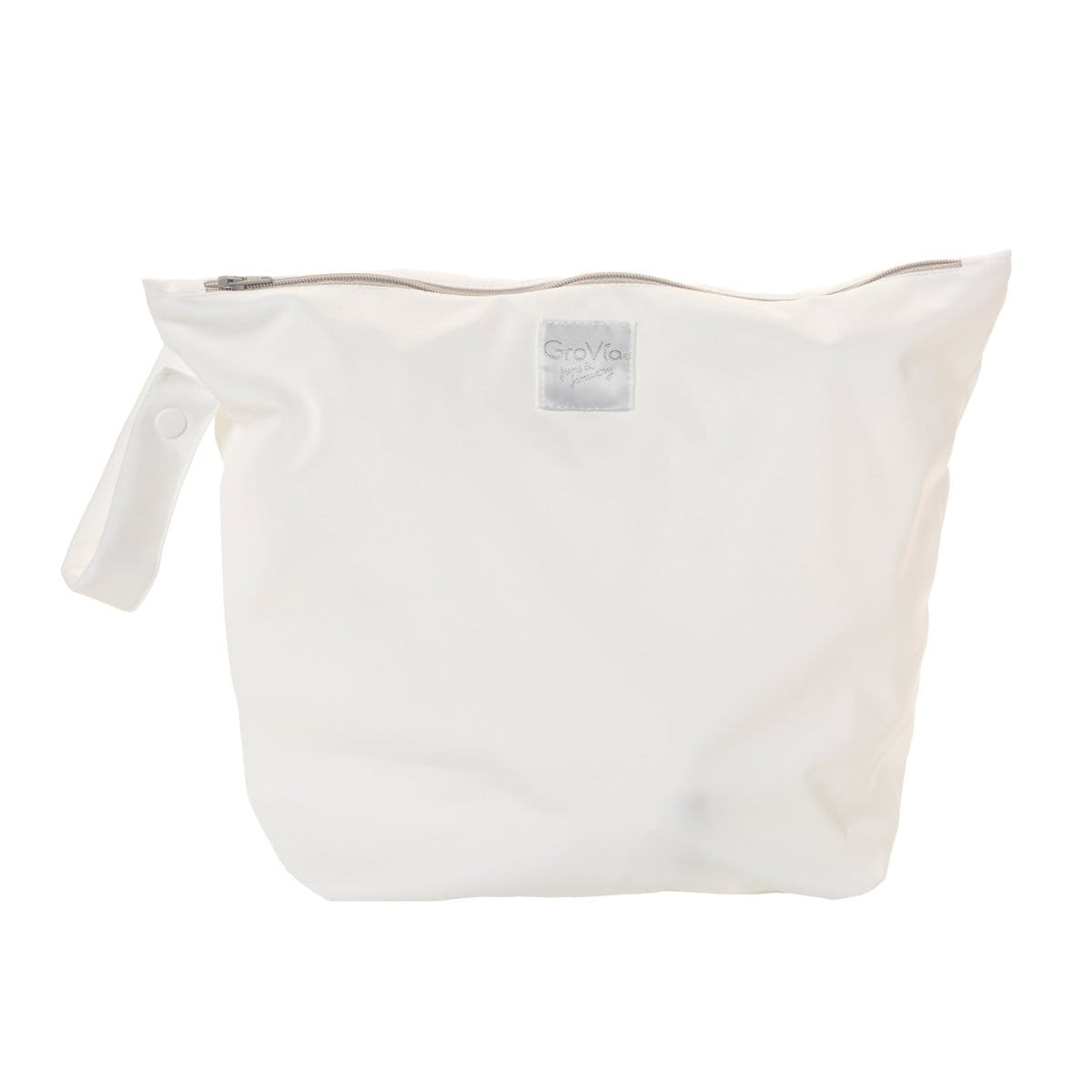 GroVia Zippered Wet Bag - snow
