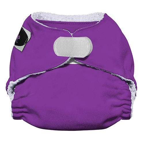 Imagine Newborn Hook and Loop Bamboo All in One Diaper - Amethyst Newborn