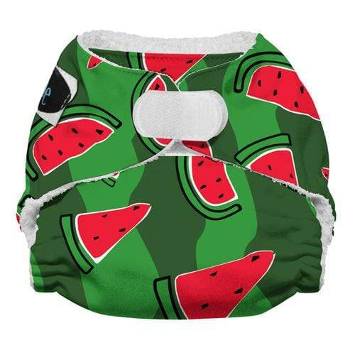 Imagine Newborn Hook and Loop Bamboo All in One Diaper - Watermelon Patch Newborn