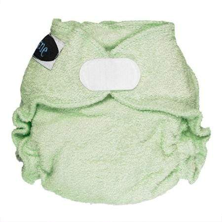 Imagine Newborn Hook and Loop Bamboo Fitted Diaper - Emerald Newborn