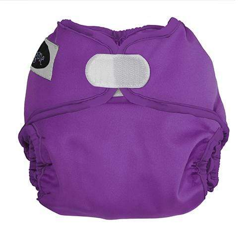 Imagine Newborn Hook and Loop Diaper Cover - Amethyst Newborn
