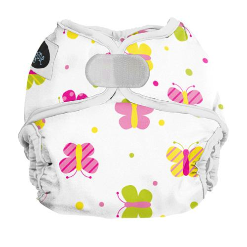 Imagine Newborn Hook and Loop Diaper Cover - Flutter Newborn