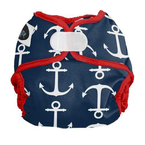 Imagine Newborn Hook and Loop Diaper Cover - Overboard Newborn