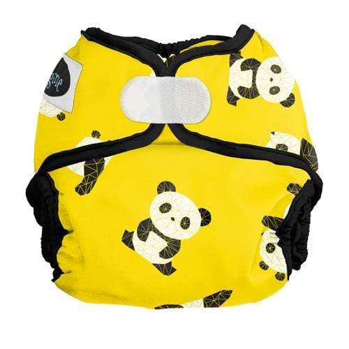 Imagine Newborn Hook and Loop Diaper Cover - Panda Fold Newborn