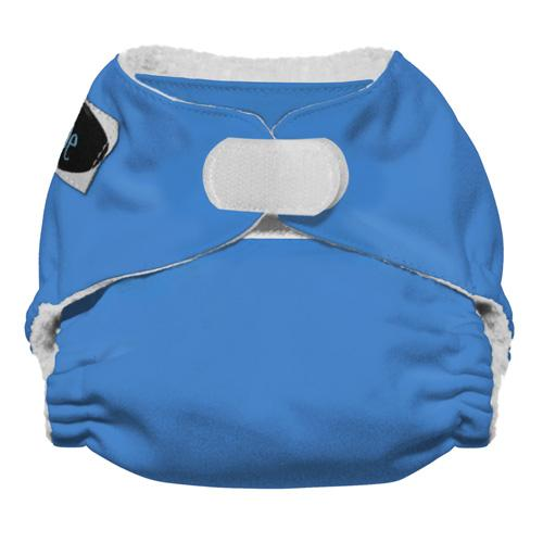 Imagine Newborn Hook and Loop Stay Dry All in One Diaper - Indigo Newborn