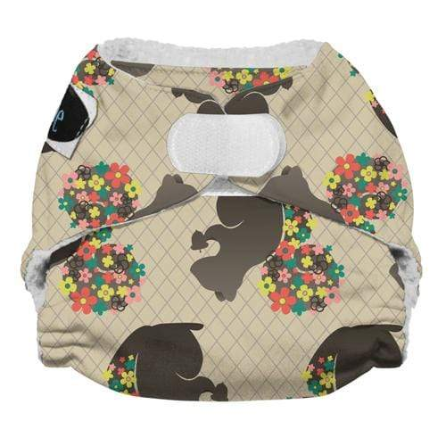 Imagine Newborn Hook and Loop Stay Dry All in One Diaper - Nuts About You Newborn
