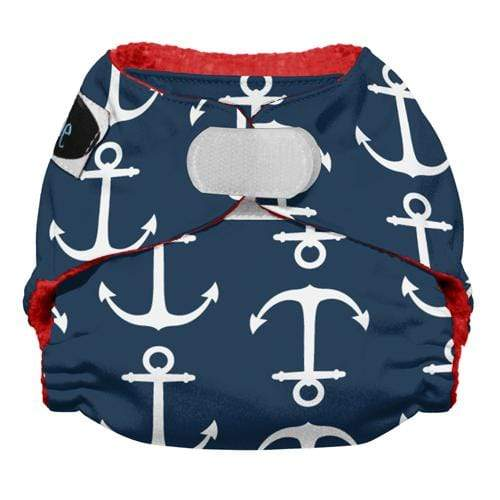 Imagine Newborn Hook and Loop Stay Dry All in One Diaper - Overboard Newborn