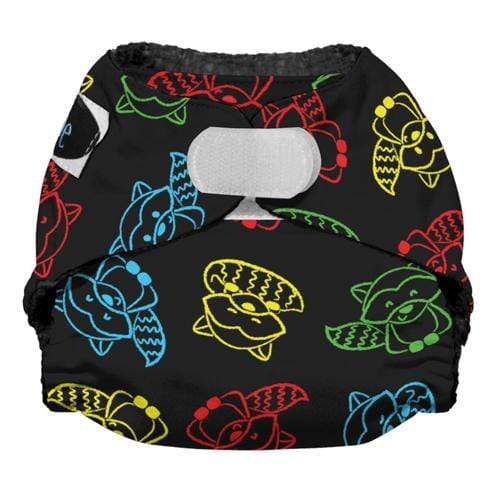 Imagine Newborn Hook and Loop Stay Dry All in One Diaper - Raccoon Ruckus