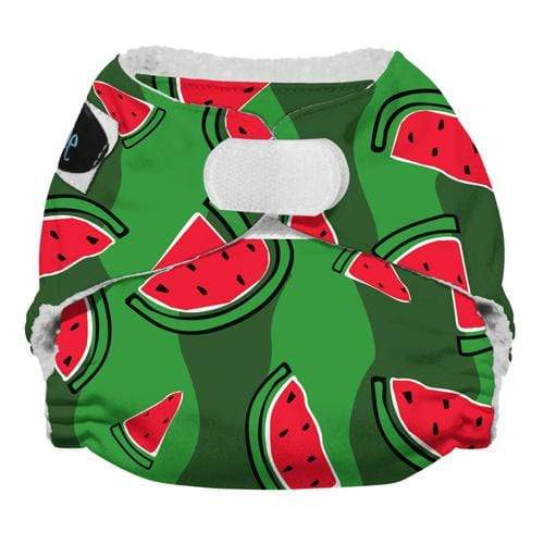 Imagine Newborn Hook and Loop Stay Dry All in One Diaper - Watermelon Patch Newborn