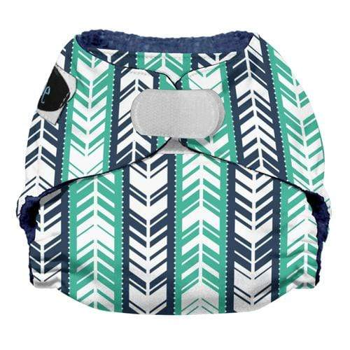 Imagine Newborn Hook and Loop Stay Dry All in One Diaper - Which Way Newborn