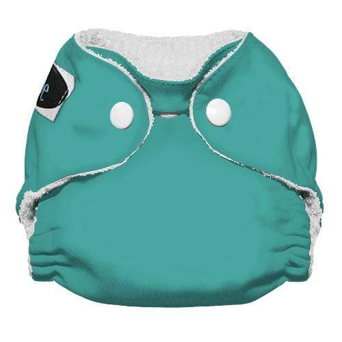 Imagine Newborn Snap Bamboo All in One Diaper - Aquamarine