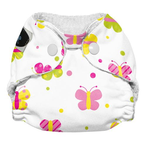 Imagine Newborn Snap Bamboo All in One Diaper - Flutter Newborn