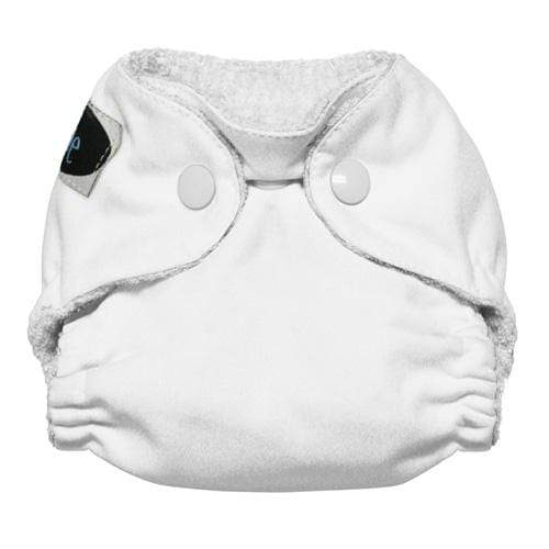 Imagine Newborn Snap Bamboo All in One Diaper - Snow Newborn