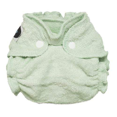 Imagine Newborn Snap Bamboo Fitted Diaper - Emerald
