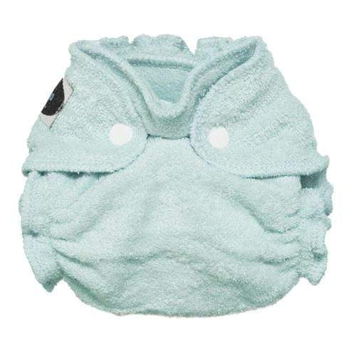 Imagine Newborn Snap Bamboo Fitted Diaper - Indigo