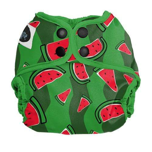 Imagine Newborn Snap Diaper Cover - Watermelon Patch Newborn