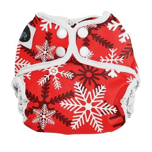 Imagine Newborn Snap Diaper Cover - Winter Wonderland Newborn