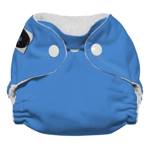 Imagine Newborn Snap Stay Dry All in One Diaper - Indigo