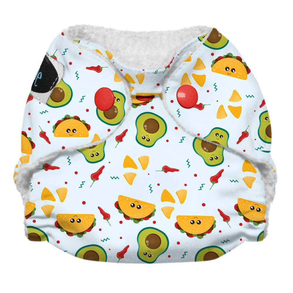 Imagine Newborn Snap Stay Dry All in One Diaper - Nacho Problem
