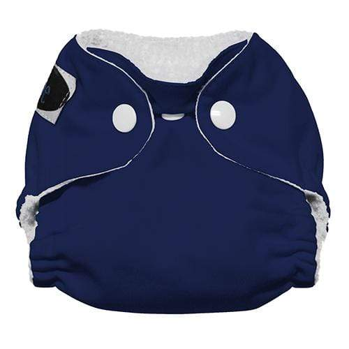 Imagine Newborn Snap Stay Dry All in One Diaper - Navy Fleet Newborn